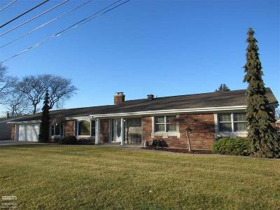 Harrison Twp Single Family Home For Sale: 37863 Seaway