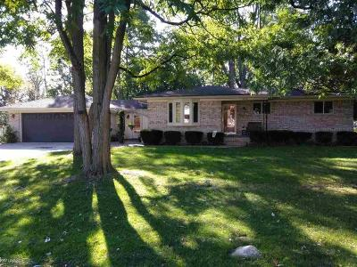 STERLING HEIGHTS Single Family Home For Sale: 5572 Plymouth