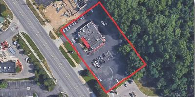 Clarkston, Independence Twp, Springfield Twp Commercial For Sale: 6440 Dixie Hwy