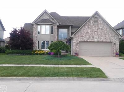 Macomb Twp Single Family Home For Sale: 54783 Amber