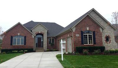 Shelby Twp MI Single Family Home For Sale: $459,900