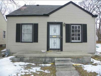 Detroit Single Family Home For Sale: 15261 Coram