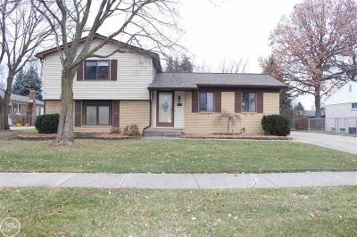 Clinton Twp Single Family Home For Sale: 19283 Cooper