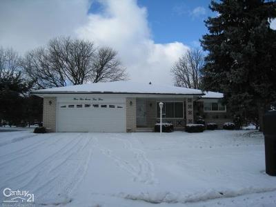 Clinton Twp Single Family Home For Sale: 35743 Kincaid