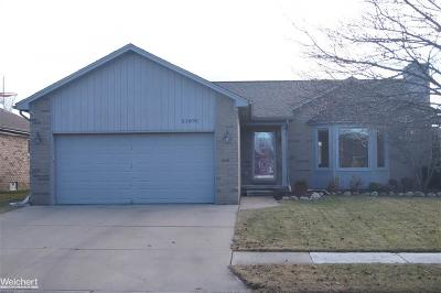 Macomb Twp Single Family Home For Sale: 21892 E Sunset Dr