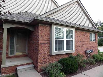 Sterling Heights Condo/Townhouse For Sale: 5581 Victory Cir