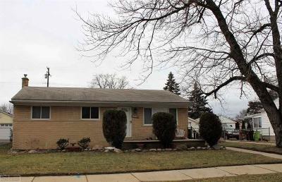 St Clair Shores, Roseville, Clinton Twp, Fraser Single Family Home For Sale: 18440 Meier