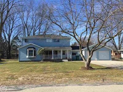St Clair Shores, Roseville, Fraser, Harrison Twp Single Family Home For Sale: 38821 Hazel