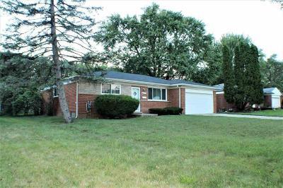 Farmington, Farmington Hills, Southfield, Livonia Single Family Home For Sale: 28141 Tapert Dr