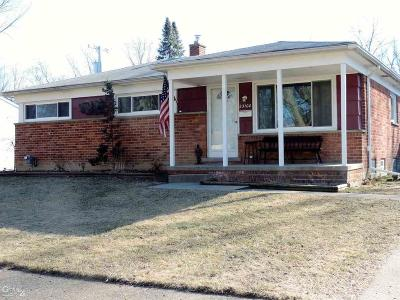 Macomb County Single Family Home For Sale: 23100 Shiell