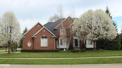 Shelby Twp MI Single Family Home For Sale: $474,900