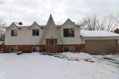 Highland Twp Single Family Home For Sale: 2840 Jackson Blvd