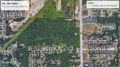 Shelby Twp Residential Lots & Land For Sale: Van Dyke