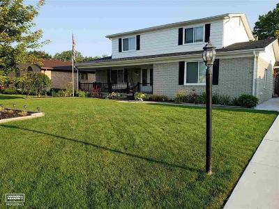 Macomb County Single Family Home For Sale: 16519 Walcliff Dr