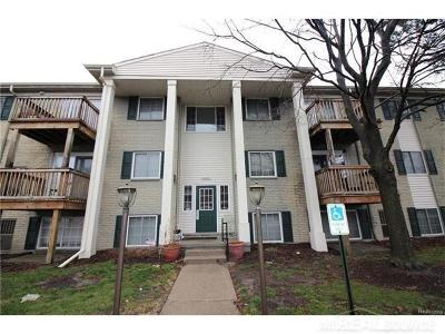 Shelby Twp MI Condo/Townhouse For Sale: $69,900