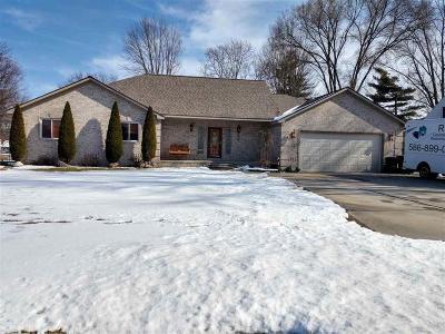 Harrison Twp Single Family Home For Sale: 39340 Hamon