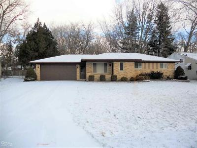 Shelby Twp MI Single Family Home For Sale: $239,900