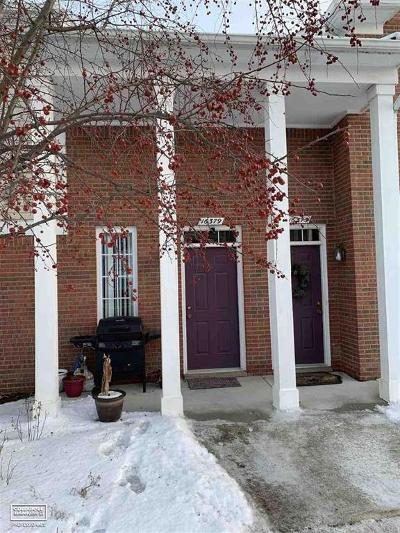 Macomb Twp Condo/Townhouse For Sale: 16379 Grandview Dr.