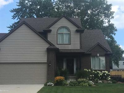 Chesterfield Twp Single Family Home For Sale: 50094 Oakbrooke