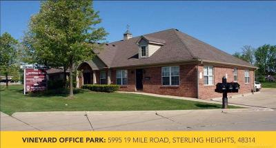 Sterling Heights Commercial Lease For Lease: 5995 19 Mile