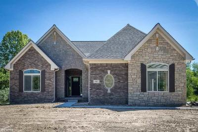 Washington Twp Single Family Home For Sale: 68160 Hillside Ln