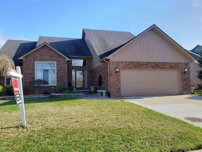 Macomb Twp Single Family Home For Sale: 16466 Howard