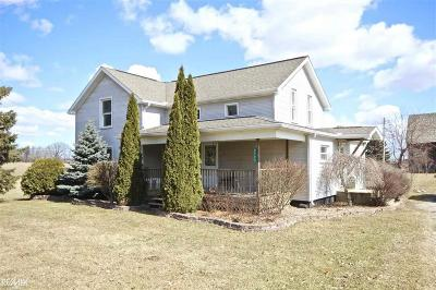 Single Family Home For Sale: 2780 N Van Dyke Rd