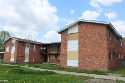 Detroit Multi Family Home For Sale: 10420 Whittier