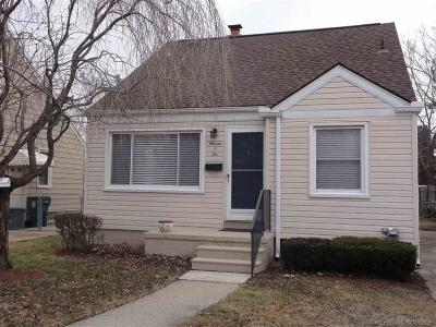 Royal Oak Single Family Home For Sale: 1106 S Stephenson