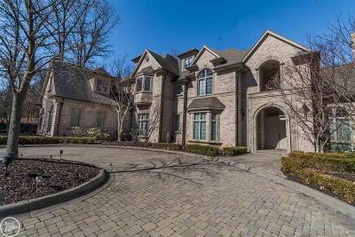 Rochester Hills Single Family Home For Sale: 1553 Scenic Hollow
