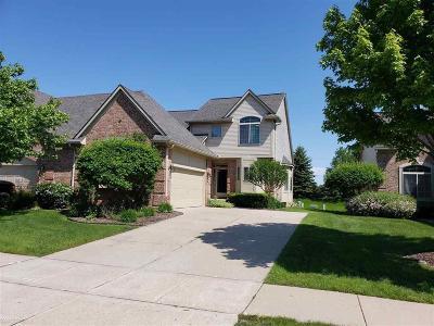 Clinton Twp Condo/Townhouse For Sale: 17367 Breckenridge