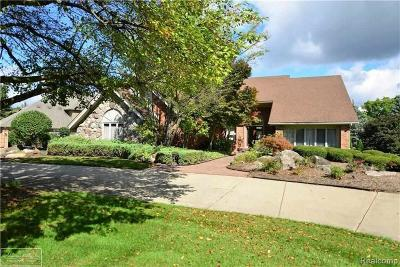 Rochester Single Family Home For Sale: 1595 Pebble Creek