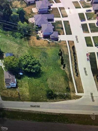 Macomb Twp Residential Lots & Land For Sale: 51825 Card