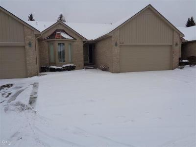 Sterling Heights Condo/Townhouse For Sale: 35148 Moravian