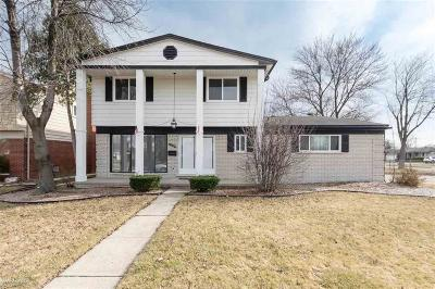 Sterling Heights Single Family Home For Sale: 11042 Grenada Dr