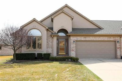 Macomb Twp Condo/Townhouse For Sale: 15224 E Hunters Pointe Dr