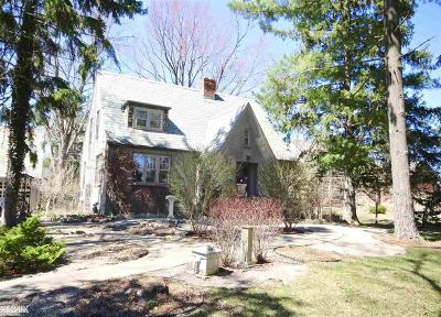 Washington Twp Single Family Home For Sale: 61671 Jewell Rd