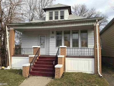 Hamtramck Single Family Home For Sale: 5102 Belmont