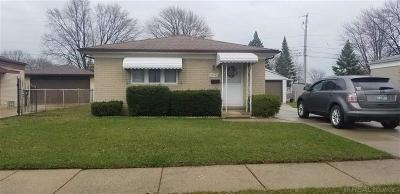 St Clair Shores, Roseville, Clinton Twp, Warren, Center Line Single Family Home For Sale: 28040 Academy