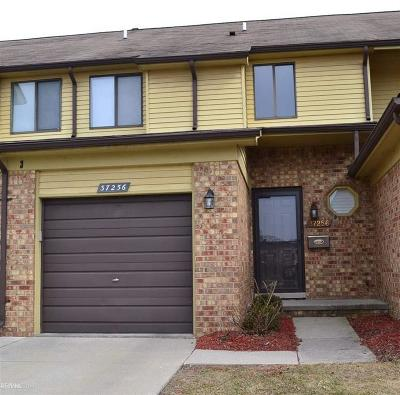 Clinton Twp Condo/Townhouse For Sale: 37256 Glenbrook