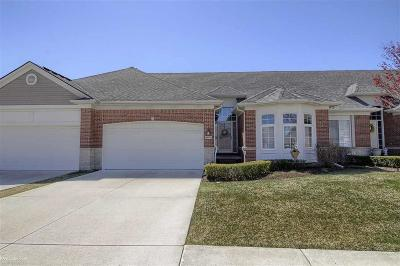 Shelby Twp MI Condo/Townhouse For Sale: $324,900