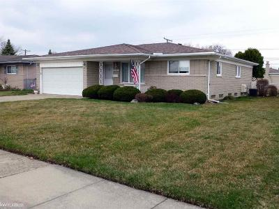 Sterling Heights Single Family Home For Sale: 11521 Forrer Dr