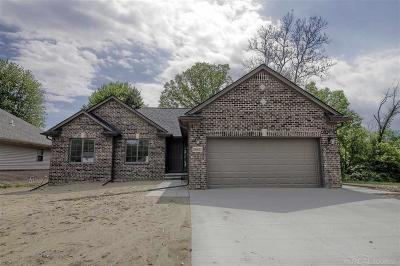 New Baltimore Single Family Home For Sale: 37683 Sienna Oaks Dr #Lot # 2