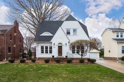 Grosse Pointe Single Family Home For Sale: 841 Fisher Road