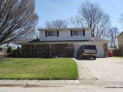 Macomb County Single Family Home For Sale: 19340 Cheyenne