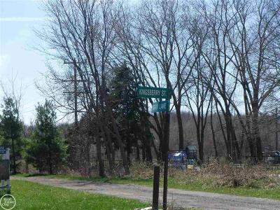 Chesterfield Twp Residential Lots & Land For Sale: Kingsberry