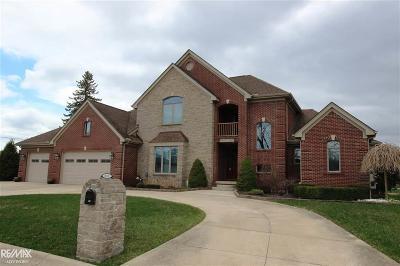 St Clair Shores, Roseville, Fraser, Harrison Twp Single Family Home For Sale: 38137 Mast St.
