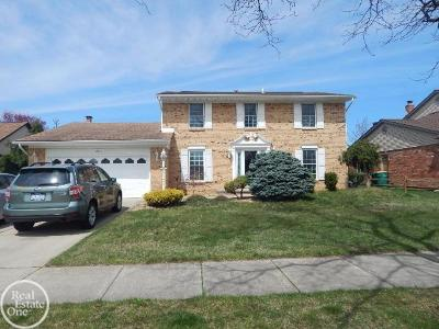 STERLING HEIGHTS Single Family Home For Sale: 13731 Halleck Dr