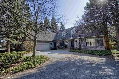 Grosse Pointe Single Family Home For Sale: 511 Lakeland St
