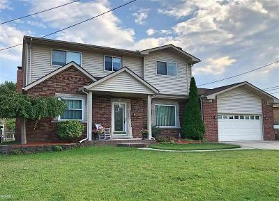 St. Clair Shores Single Family Home For Sale: 22544 Lange